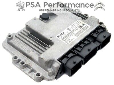 PEUGEOT 307 110 HDI TUNED REMAPPED ECU PLUG & PLAY 142PS EGR/DPF OFF 0281011634