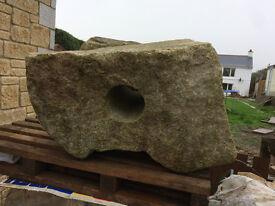 Large Granite boulder x 2