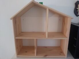 Kids Doll House / Book Shelf can be wall mounted