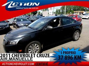 2011 CHEVROLET CRUZE LS AIR**37 986 KM**