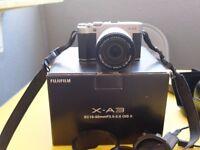 Fuji X-A3 24.2MP Camera Mint Condition