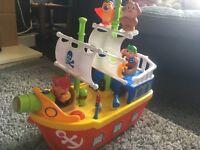 Toddler pirate ship