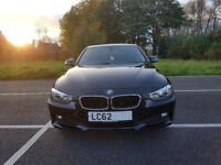 62 Reg BMW 320d Diesel In Black - Automatic with iDrive, Msport Styling. HPI Clear.