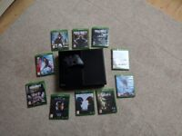 Xbox One 500gb. 10 games