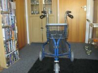 Tri-Walker - Blue - In Very Good Condition