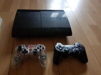 Black charchoal 500gb ps3 super slimb źby 3