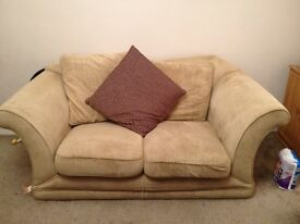 2 X 2 seater sofa's