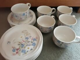Poole Pottery tea set