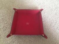 Louis Vuitton leather tray