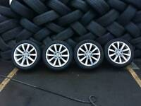 Mk7 vw gt alloy wheels with tyres 17inch