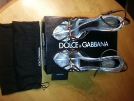 Genuine Dolce & Gabbana ladies high heel shoes/sandals (EU 39) / (UK 6) - RRP £255