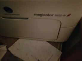 Minolta Magicolour 1600 colour laser printer in full working order