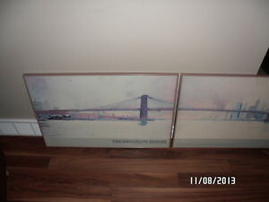 Brooklyn Bridge framed Strathcona County Edmonton Area image 1
