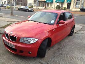 BMW 1 Series Msport 116i Red