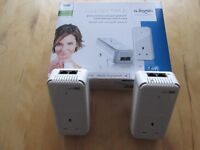 Devolo dLAN 500Mbps Duo+ Powerline Starter Kit with Passthrough Sockets