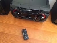 Panasonic SA-AKX200 HIFI SYSTEM. Has BLUETOOTH and USB