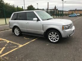 02 plate Range Rover Vogue With Full 12 Plate Conversion Long mot with full history