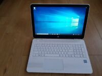 HP Pavilion 15-AU181NA Intel Core i5 7200u 8GB DDR4 Windows 10 Laptop in White