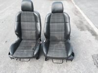 2 Peugeot 307 SW car bucket seats with runners