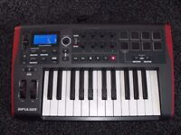 NOVATION IMPULSE 25,Midi Controller Keyboard,Good Condition,See ad/pics