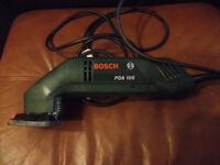 BOSCH 230 volt corner sander