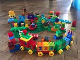 Lovely LEGO Duplo bundle including base plate, Cars, Jake and the Neverland Pirates