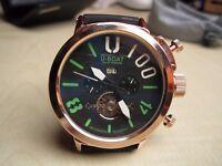 U-BOAT U BOAT 1001 Men's watch NEW**NOT Rolex Hublot Breitling Tag Heuer Omega Cartier Mont Blanc*