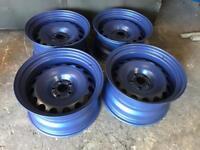 "16"" 5x100 Banded Steel wheels"