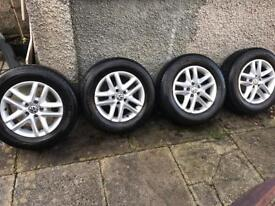VW Tiguan Alloys