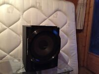 Subwoofer, PANASONIC, Large passive. Very loud Bass. Good condition.