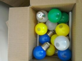 LED Golf ball bulbs