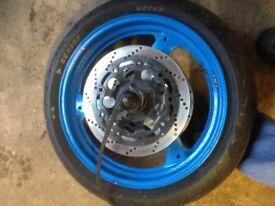 Suzuki GSXR 750 front wheel