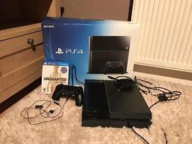 Boxed 500GB PS4 with Uncharted: The Nathan Drake Collection
