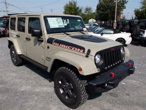 2017 Jeep WRANGLER UNLIMITED 4WD 4dr CUIR  NAV HITCH 2 TOITS ÉCR