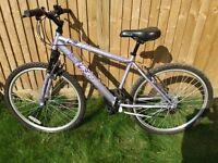 Girls bike. Apollo Jewel. Lilac colour. Shimano gears. Approx age 10-15. good condition.