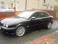 Jaguar xtype 2.0 D Sport. Black. Comes with exactly same car as donor.