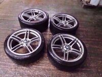 Bmw 313 Genuine Alloy Wheels Staggered Fitment Can Sell Singles Can Post Part Exchange Welcome