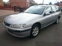 !!!1 day reduced price!!!!!1999 PEUGEOT 406 ESTATE ..7 SEATER...LONG MOT