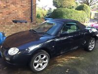 MGF sports convertable 2001