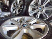 17inch genuine bmw Alloys Wheels z3 z4 1 3 Series Vw T5 Vauxhall Vivaro traffic 5x120