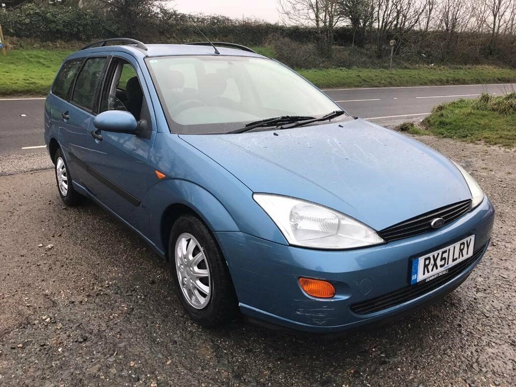 FORD FOCUS LX 1.8 TDDI ESTATE BLUE 2001 DIESEL FSH