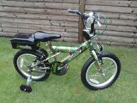 """14"""" Camoflauge bike"""