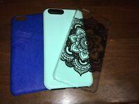 iPhone 6 plus 6+ 6s+ cases, set of three including Spigen Card Case