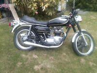 1979 Triumph Bonneville 140 D Special. Low Mileage, well looked after.