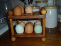 egg holder wooden