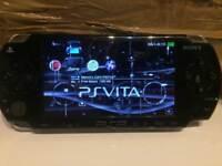 PSP 1000 retro gaming console