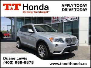 2013 BMW X3 xDrive28i *Leather, Heated seats, Bluetooth*