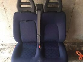 fiat ducato double seat 2005