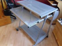 Metal Computer Desk Trolley