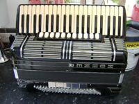 hohner morino 1VN double cassotto accordion